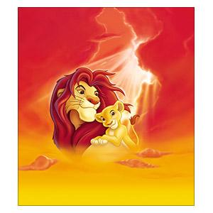 Lion King. Размер: 40 х 45 см